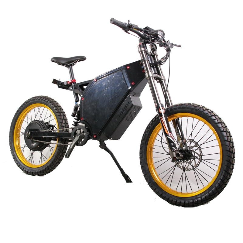 2020 Electric Motor Bicycle 3000w Stealth Bomber Electric Mountain Bike Emtb Made in China